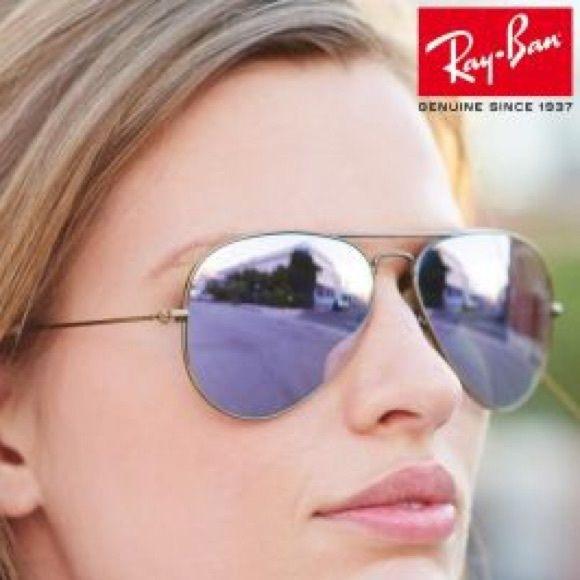 cc82b9a249 Rayban lilac mirrored glasses. M 5b15780d04e33d9c3adf3065